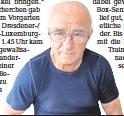??  ?? Die Wurzener Boxlegende Horst Kästner (82)