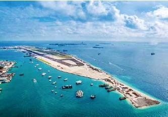 ??  ?? 北京企业承建的马尔代夫维拉纳国际机场改扩建工程
