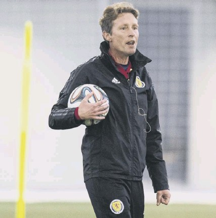??  ?? Scot Gemmill believes the announcement by Steve Clarke that he will name an expanded squad for Scotland's hectic schedule in October should give extra incentive for his under-21 players to impress when they face Lithuania tonight.