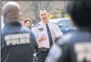 ?? JONATHAN NEWTON/ THEWASHINGTON POST ?? Peter Newsham's departure asWashington's police chief came as homicides escalated in the city and as the chief found himself increasingly at odds with council members.