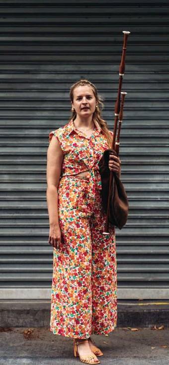 ?? © Titus Simoens ?? Marieke Van Ransbeeck: 'Ik wil het muurtje tussen oude muziek en folk afbreken.'