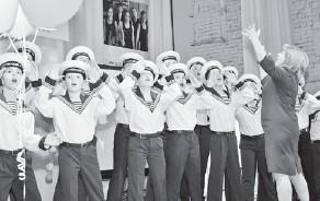 ??  ?? эти ученики школы № 81 поют ежедневно.