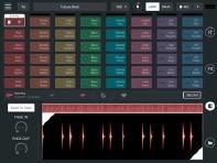??  ?? Die iOS-App Remixlive von Mixvibes kann zur Untermalung eines DJ-Sets genutzt werden.