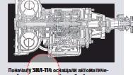 ??  ?? Поначалу ЗИЛ-114 оснащали автоматической двухступенчатой коробкой передач от ЗИЛ-111. В ее основе лежал агрегат, который ставили еще в начале 1950-х на автомобили Chrysler. Коробка не была сильной стороной ЗИЛа ни по конструкции, ни с точки зрения надежности. Лишь в 1975-м на ЗИЛ-114 стали устанавливать новый трехступенчатый автомат. Тогда же кнопки управления коробкой, расположенные посредине приборной панели, заменили обычным напольным рычагом.
