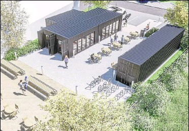 ??  ?? A planning application is yet to be submitted but bosses want to use old shipping containers as the structure