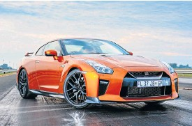 ??  ?? Minor annual changes have kept the Nissan GT-R's design relatively modern.