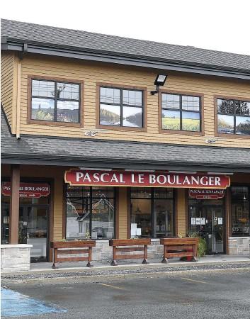 ?? PHOTO STEVENS LEBLANC ?? L'enseigne Pascal Le Boulanger a vu le jour en 2012 à Stoneham-et-tewkesbury.
