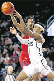 ?? 2019, TIMES- DISPATCH ?? With a 17.7-point scoring average, guard Blake Francis led Richmond last season. He is one of four seniors who will start for the Spiders.