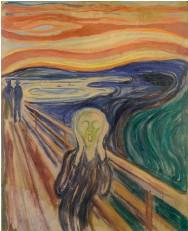 ??  ?? « Le cri », d'Edvard Munch
