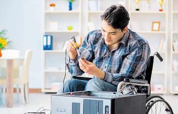 ?? Foto: Shutterstock ?? Pomoc znevýhodněným Sociální podniky usnadňují vstup do zaměstnání lidem s největšími problémy, především se zdravotním postižením.