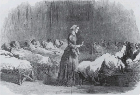 ??  ?? Florence Nightingale's dedication to duty during Crimean War earned her title The Lady with the Lamp (photo: Getty Images)