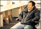 ??  ?? Serial entrepreneur: Bill Nguyen thinks photo sharing will be a big hit.