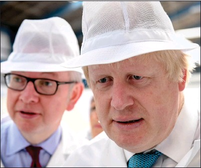 ?? Picture: Andrew Parsons/ Getty Images ?? Michael Gove and Boris Johnson have presided over a hard Brexit, which has brought woe for exporters