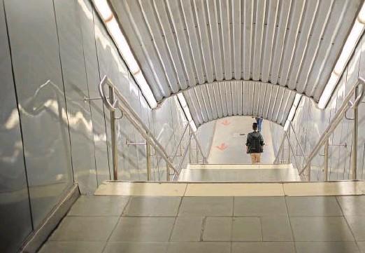 ?? // ABC ?? El metro de Barcelona, semivacío en el primer estado de alarma