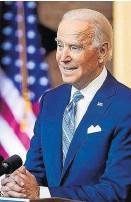 ??  ?? Joe Biden möchte mit dem Iran weiterverhandeln.