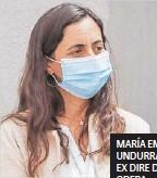 ??  ?? MARÍA EMILIA UNDURRAGA , EX DIRE DE ODEPA.