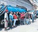 ?? FOTO: MARVIN SALGADO ?? los conductores amenazan con intensificar las protestas.