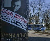 ??  ?? Lockdown losses: a cancelled festival in Kraków, Poland