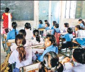 ?? PhoTo/hT ?? In 2017, the school sector had a budget allocation of Rs46,356 crore