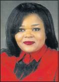 ??  ?? ASSASSINATED: Ray Mhlaba municipality council speaker Thozama Njobe, 46, was gunned down on Monday night
