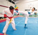?? / FERNANDO MALDONADO ?? Michoacán será karatecas representado por 13