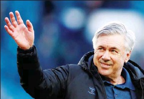 ?? AFP ?? Carlo Ancelotti will return to Real Madrid as manager for the next three seasons, the club said on June 1.