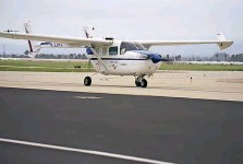 ??  ?? ABOVE: the converted Cessna 337 is powered by an IO-550 in the tail and a 160hp electric motor in the nose