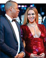 ??  ?? HOME DE­LIV­ERY: Bey­oncé and Jay Z are fill­ing their £20 mil­lion man­sion with med­i­cal kit