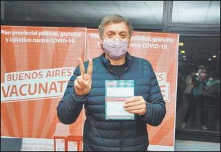 ??  ?? DURO. Máximo Kirchner criticó la indemnidad otorgada a los laboratorios.