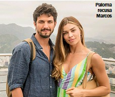 ??  ?? Paloma recusa Marcos