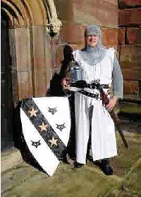 ??  ?? 'Sir Robert de Stokeport' stood up for Barons' rights