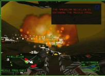 ??  ?? » [N64] While toned down for a console audience, the N64's Battlezone still included many elements of strategy. And difficulty.