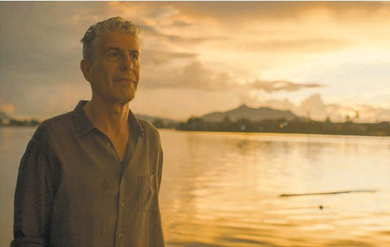"""?? Focus Features ?? """"Roadrunner"""" explores the life of Anthony Bourdain, a chef turned bestselling author and globetrotting TV series host."""
