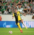 ?? Foto: Keystone ?? Die Partie zwischen Ferencvaros und den Young Boys war nach Redaktionsschluss beendet. Informationen dazu unter www.bazonline.ch.