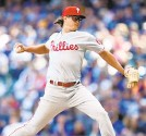 ?? DYLAN BUELL/GETTY ?? J.D. Hammer has struggled in the minors after his first stint with the Phillies.