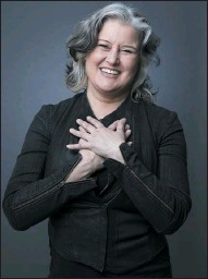 ?? THE ASSOCIATED PRESS ?? Singer-songwriter Paula Cole is among the performers in a benefit streaming concert on Friday.