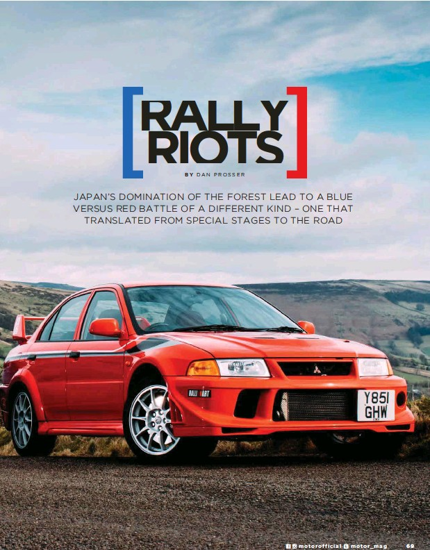 What's more significant still is that the Tommi Makinen Edition and 22B really are the Mitsubishi Evo and Subaru Impreza at their very best.