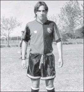 ??  ?? Tenía 15 años cuando fue incorporado por Newell's. Vivió en Rosario poco más de un año, pero extrañaba mucho a su familia