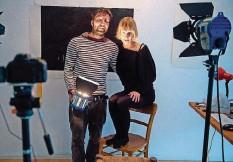 ?? FOTO: OLIVER DIETZE ?? Lydia Kaminski und Philipp Neumann.