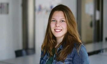 ??  ?? Hat ganze Arbeit geleistet: Nicole Schneiter, angehende Mediamatikerin.