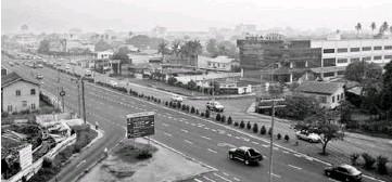 ??  ?? Jalan Kuhara in Tawau was named after Kuhara Fusanosuke, the owner of Kuhara Mining Co., later called Nissan.