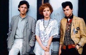 ?? — Handout ?? Ever wondered what happened to (from left) Blaine (Andrew Mccarthy), Andie (Ringwald) and Ducky (Cryer) after the movie ended?