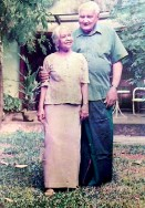 ??  ?? A long partnership: Ray with his wife Seela