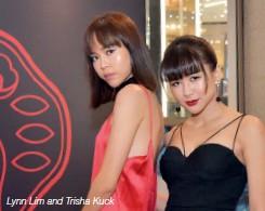??  ?? Lynn Lim and Trisha Kuck