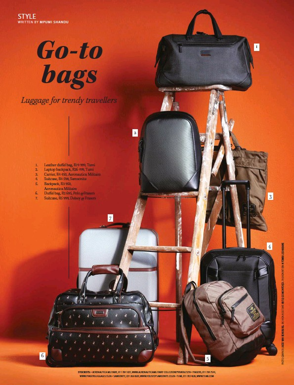 ff97b1ca8b7 Shopping  Go-To Bags. Luggage for trendy travellers. Destiny Man - 2018-12- 01 ...