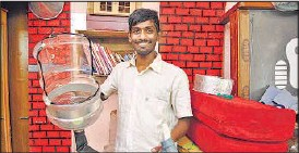 ??  ?? Ashwani Aggarwal, 22 (above) founded the initiative after he did his final project on sanitation problems in the city. SUBRATA BISWAS / HT PHOTO