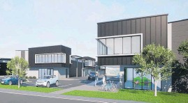 ??  ?? Artist's impression of the 15-unit development at 88 Hobsonville Rd.
