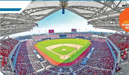 ??  ?? El majestuoso estadio Alfredo Harp Helú volverá a tener público.