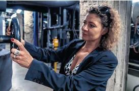 ??  ?? Natalie Stanke leitet die Fernkälte am Schottenring