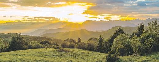 """??  ?? La valle del Natisone, in provincia di Udine, scelta come """"stazione"""" terapeutica contro i problemi respiratori"""